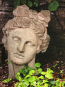 Beautiful Faces, var. 2, Garden Goddess with Ivy